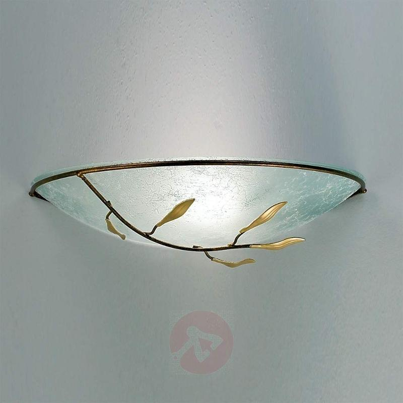Regine Wall Light with Scavo Glass - Wall Lights