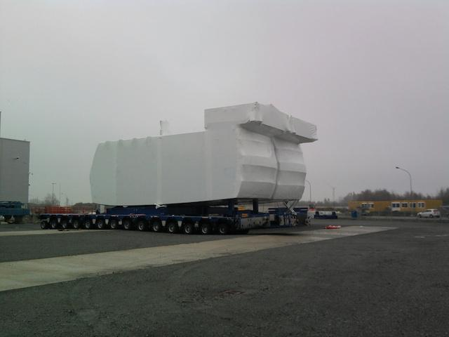 Watertight shrink packaging - For transport of big volumes