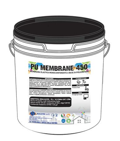 PU MEMBRANE 450 membrana impermeabilizzante - membrana elastica monocomponente