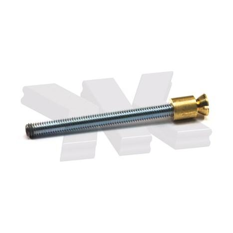 Extension screw for door leaf thickness 39-44 mm - Straight pull handles stainless steel