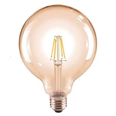 E14 4.5 W 817 LED candle bulb gold, dimmable - light-bulbs