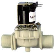 Servo-controlled solenoid valve NC, DN 17 - 01.017.126