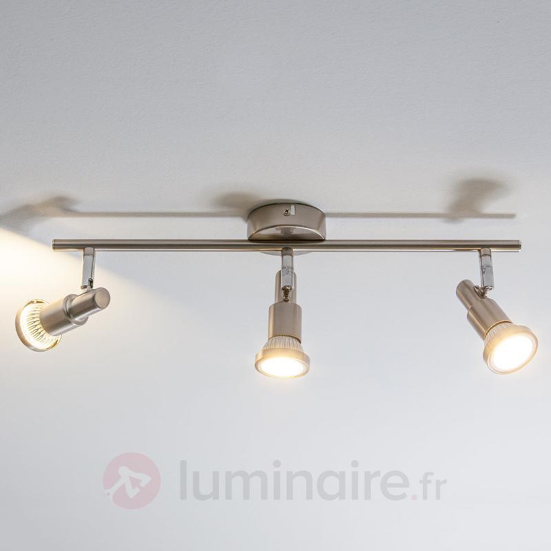 Plafonnier LED Aron à 3 lampes - Plafonniers LED