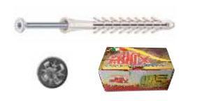 NDXV - Tasselli in nylon prolungati ad annodamento + vite TSP croce - NDXV08100 - null