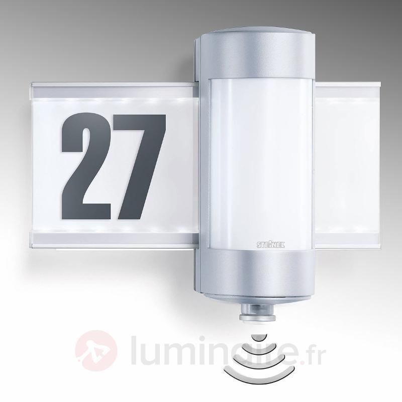 Numéro de maison LED à détecteur L 270 S - Numéros de maison lumineux