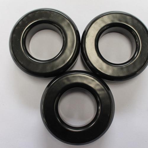 Núcleos de polvo magnético blando HJS250060E18 - Negro, OD * ID * HT (63,10 * 31,37 * 19,10)