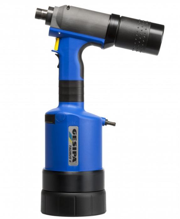 TAURUS® 6 (Pistolet oléopneumatique pour rivets aveugles) - The pneumatic-hydraulic blind rivet setting series