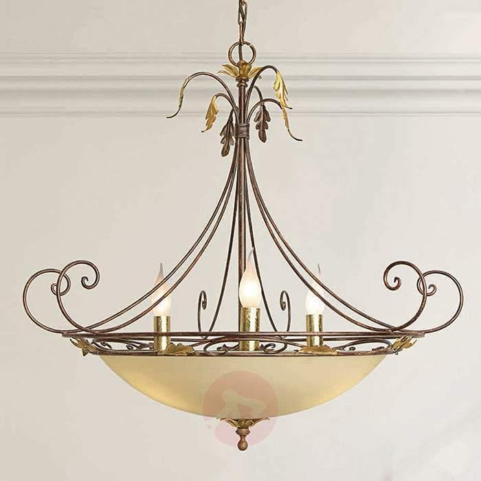 Opulent hanging light Damiano - Pendant Lighting