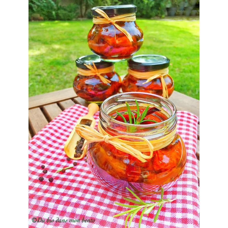 12 vasi in vetro WECK Fête® 235 ml - Twist-Off con capsula da avvitare Ø 63 mm fornita.