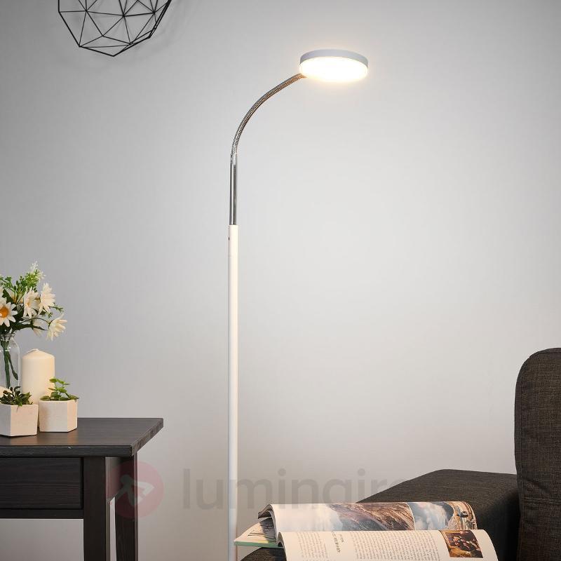 Lampadaire LED Milow avec col de cygne - Lampadaires LED