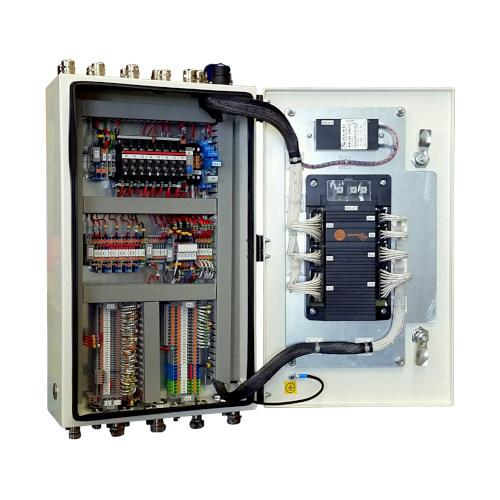 Control panels for self-propelled machines -