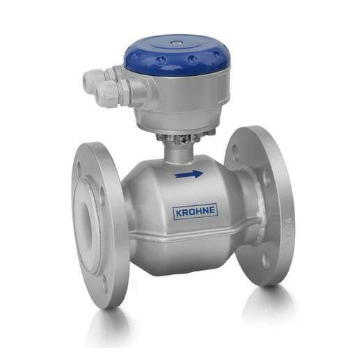 OPTIFLUX 4000 - Caudalímetro para líquido / electromagnético / en línea