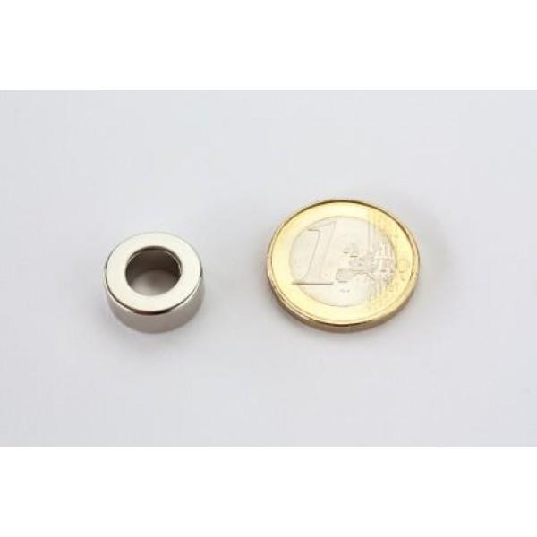 Neodymium ring magnet, 15/8mm, height 6mm, N42,... - null