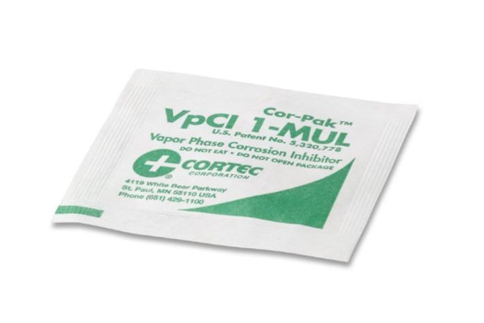 CorPak 1-MUL / 8-MUL  - VPCI®-droogmiddelpakketten | Droogmiddelen Voor Containers