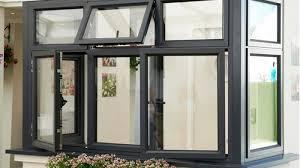 Поворотно-откидные и поворотные окна - из алюминия