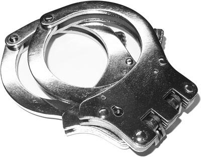 Suits Accessories - DOUBLE HINGED HANDCUFFS