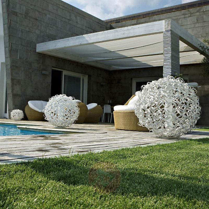 Salsola designer light for outdoors, white, 48 cm - Outdoor Design Lights