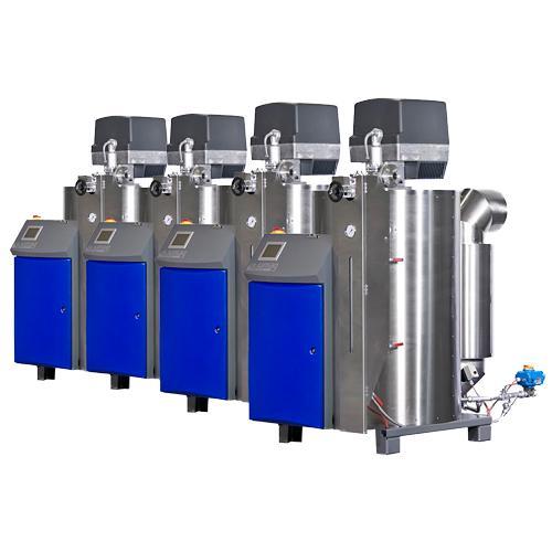 Mehrfachdampfanlagen für Dampfleistungen über 560kg/h - dampferzeuger
