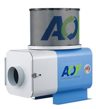 Oil mist separator AF-10P - During machining, oil and emulsion mists are released, which can cause an unheal