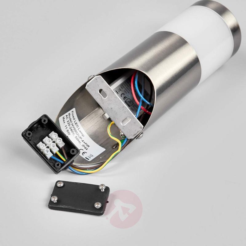 Sensor outdoor wall light Belina with LEDs - outdoor-led-lights