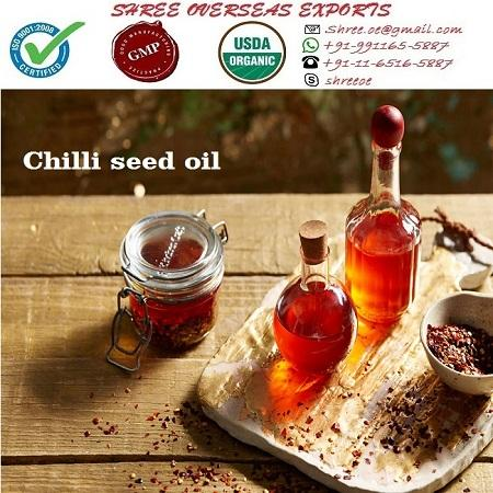 Organic Chilli Seed Oil - USDA Organic