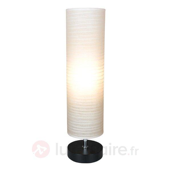 Lampe à poser cylindrique Classica - Lampes à poser en tissu