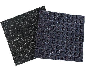 Quick-Connect sportvloer tegels - Fraaie sportvloer tegels die makkelijk te plaatsen zijn middels connectors.