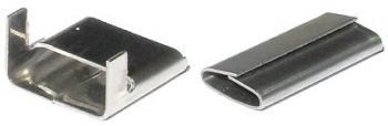 Sluitzegels en gespen voor omsnoeringsband - Sluitzegels voor staalband