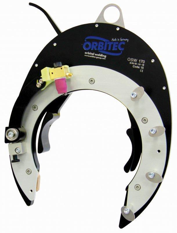 Open-frame weld head OSW series - Open-frame weld head for orbital welding - OSW, Orbitec