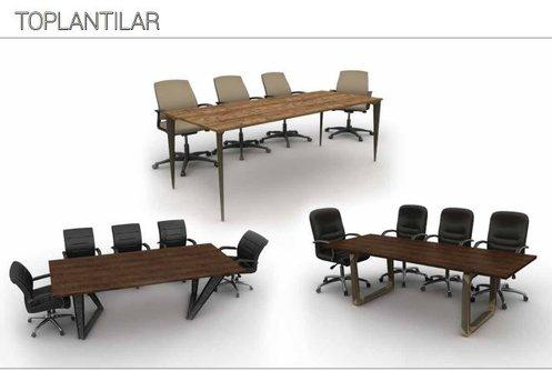 Meeting Commercial Office Furniture Design Tables - Many seaters institutional and business meeting desk