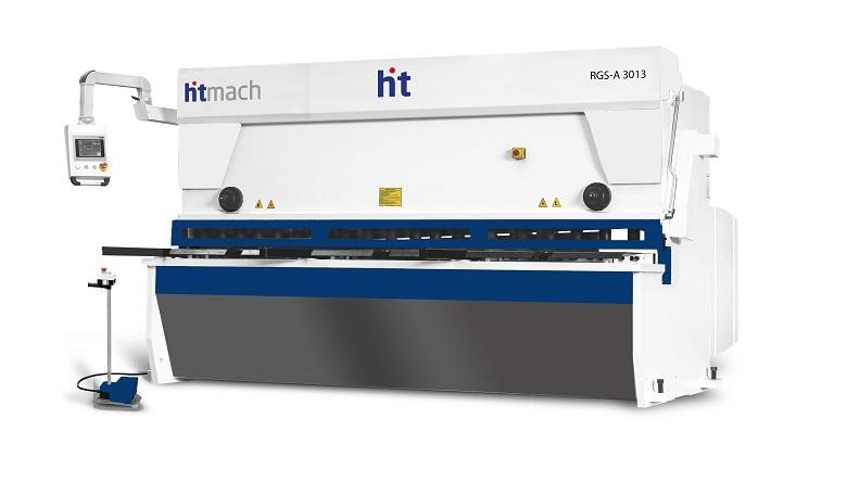 HTMACH Hydraulic CNC Variable-Rake Guillotine Shear Machine - RGS-A Series Hydraulic CNC Variable-Rake Guillotine Shear Machine