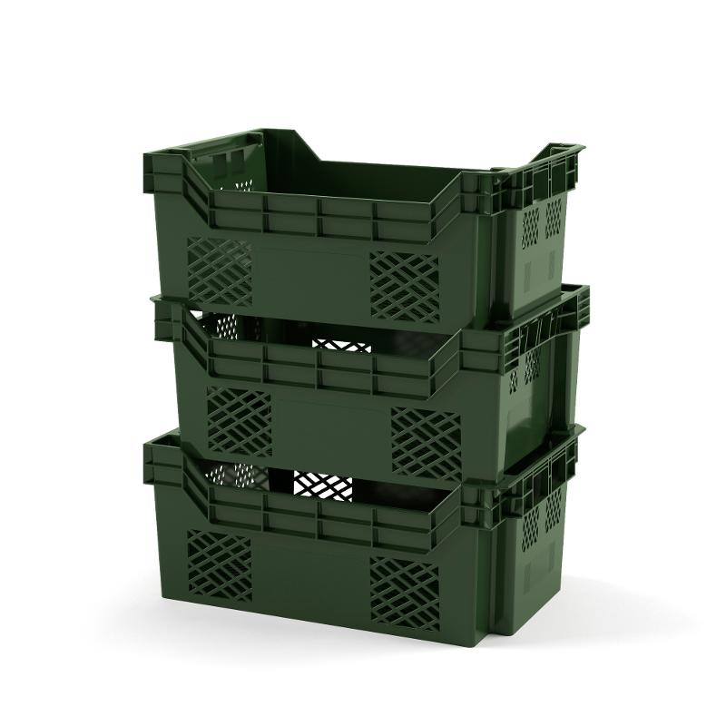 Nestable and stackable crate - Art.: 12.416