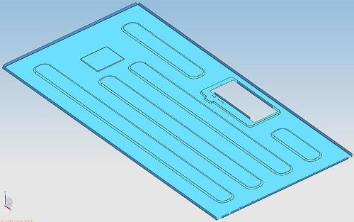 Ventilateur de cuisine - Plaque arrière du ventilateur de cuisine