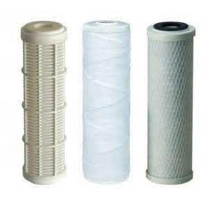 Filtres à liquides - Cartouches de filtres à eau