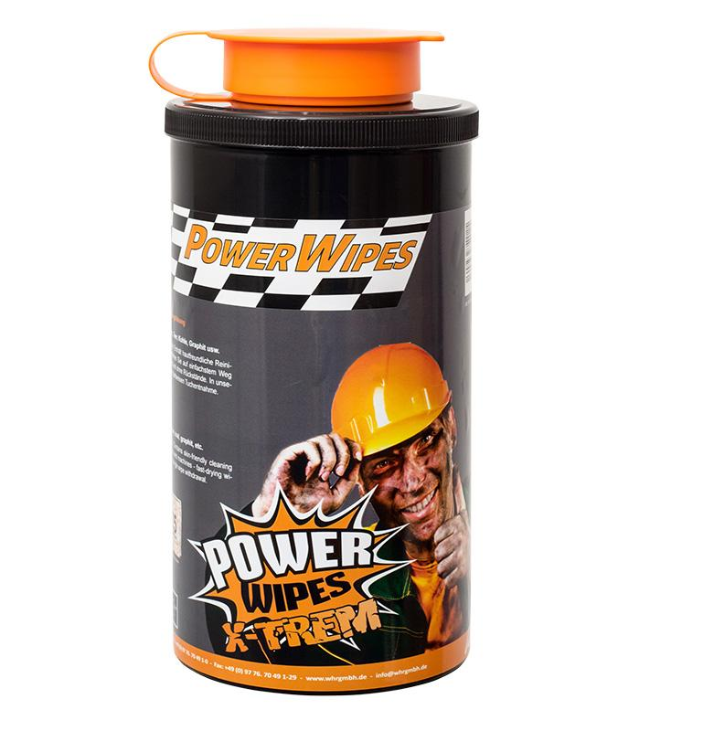 PowerWipes Xtrem Handreinigungstücher  - für Industrie 75 Blatt