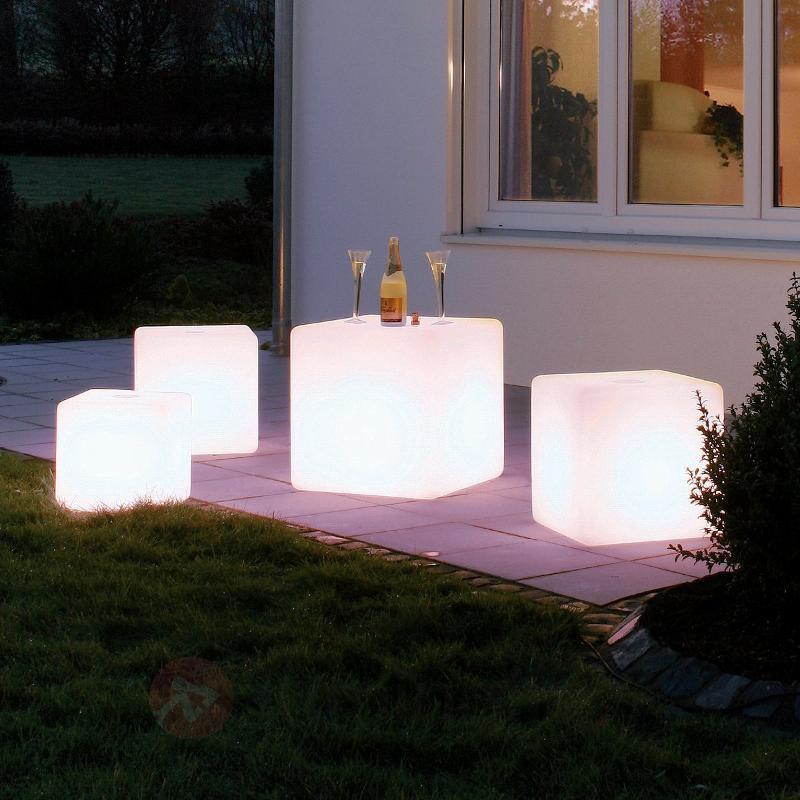 Cube lumineux CUBE de haute qualité - Lampes décoratives d'extérieur
