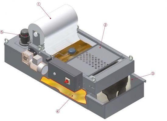 Papiers filtrants - Rouleau de papiers filtrants
