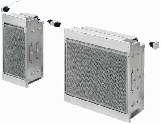 elektrostatische Filter FE-System für Zu- und Abluft