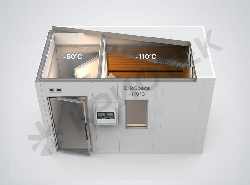 Cryosauna CrioSpace 2К  - Whole-body cryotherapy