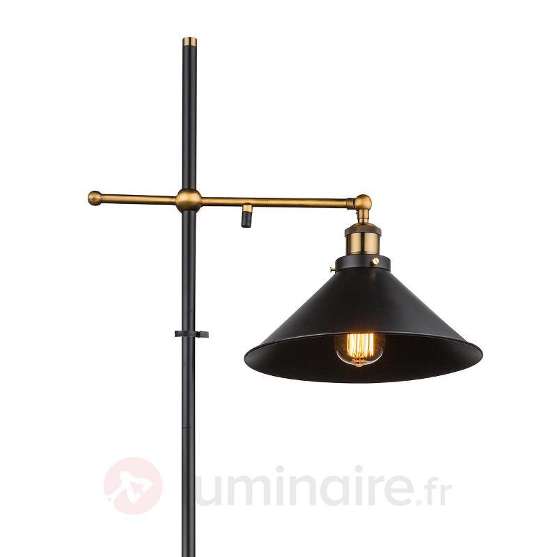 Lampadaire Viktor, à hauteur ajustable - Tous les lampadaires
