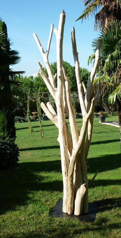 Sculptures produits for Bois flotte grossiste