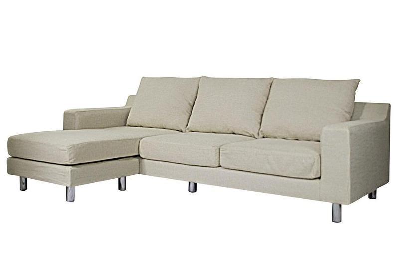 Canapé d'angle modulable 529 € - MONACO ivoire