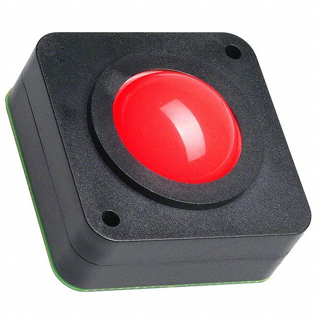 "TRACKBALL 1"" USB W/RED BACKLIT - APEM Inc. LP1007EXXH00R"