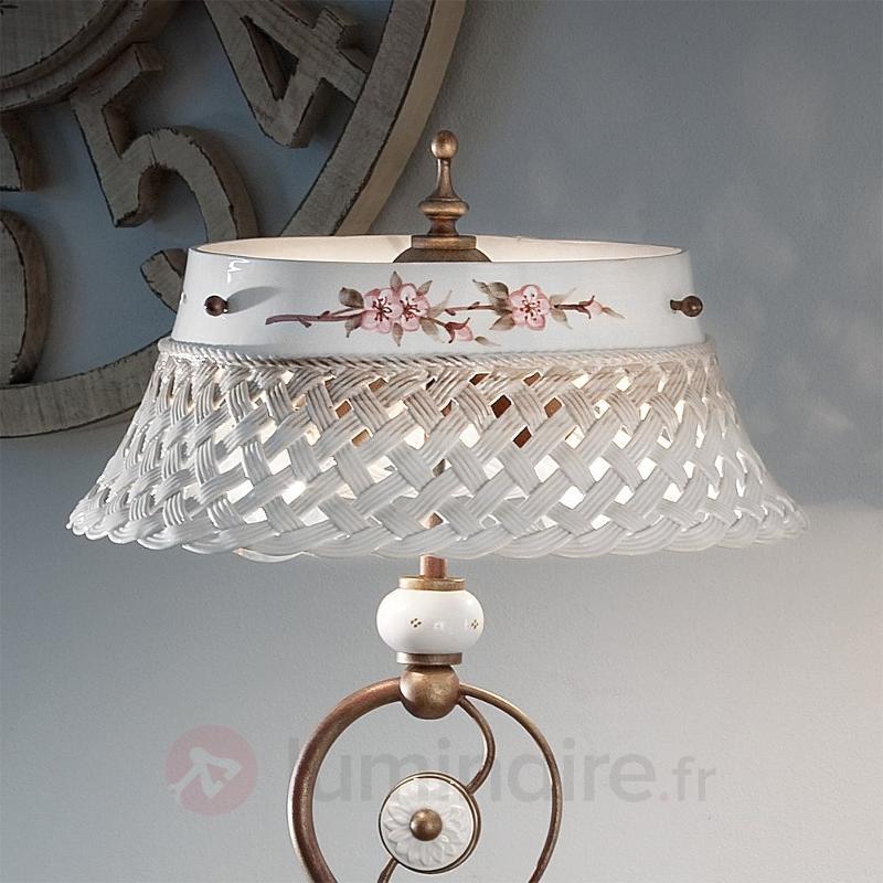 Lampadaire décoratif Cesta - Lampadaires rustiques