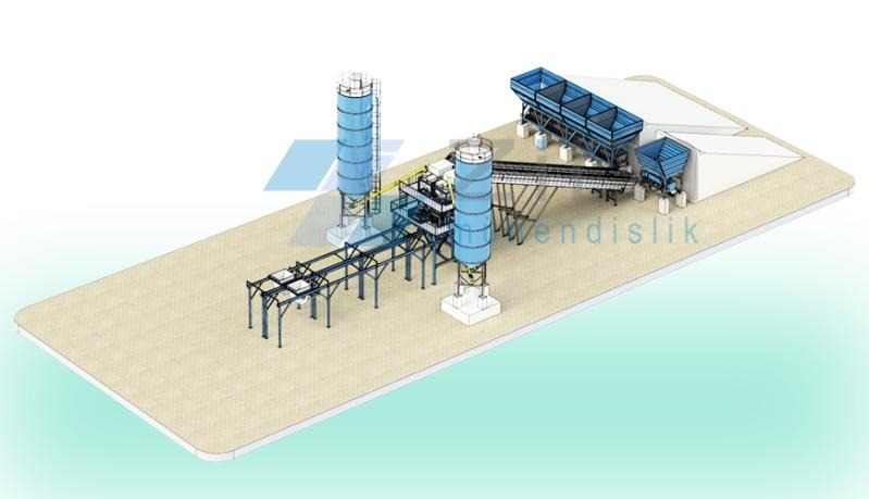 ZIM BS MAXI DOUBLE MODEL - Concrete Batching Systems in various capacities.