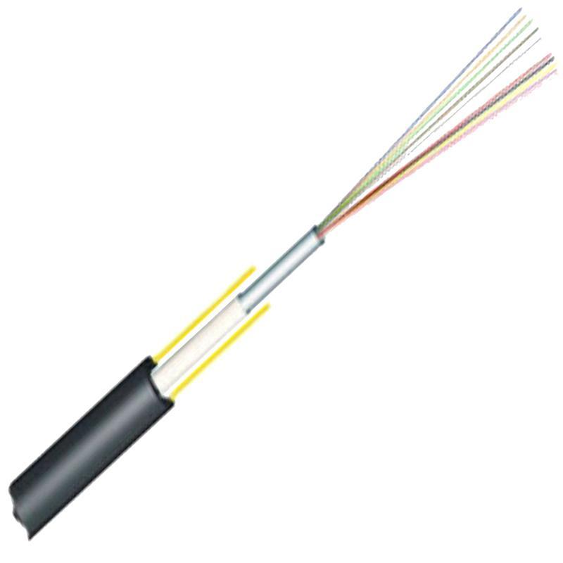 Central Tube non-metallic strength member non-armored cable