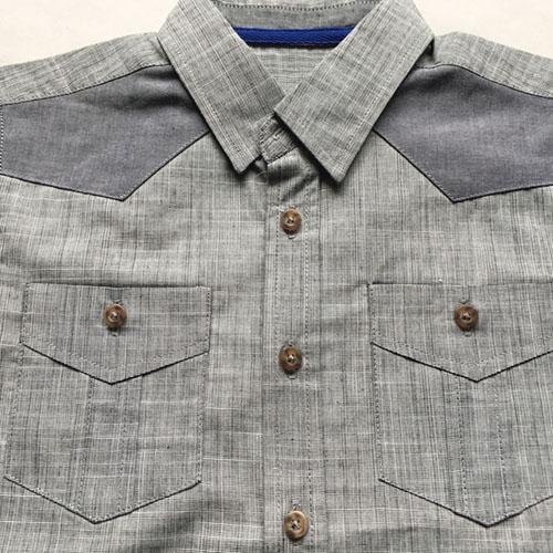 Boys' short-sleeve shirt -