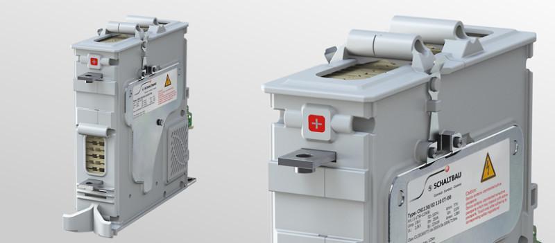 1-poliges Hochspannungsschütz CH - Hochspannungsschütz für Spannungen bis 3 kV