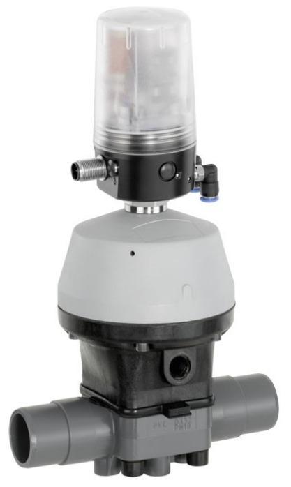 GEMÜ R690 - Válvula de diafragma de acionamento pneumático