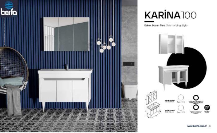 Bathroom Furtniture Karine100 - Bathroom Furtniture